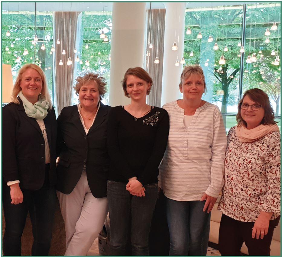 Nadine Klitzing, Adriane Rutz, Cindy Bodnar, Karina Lüssenheide, Meike Müller