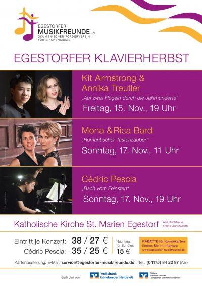 Egestorfer Klavierherbst Plakat 2019
